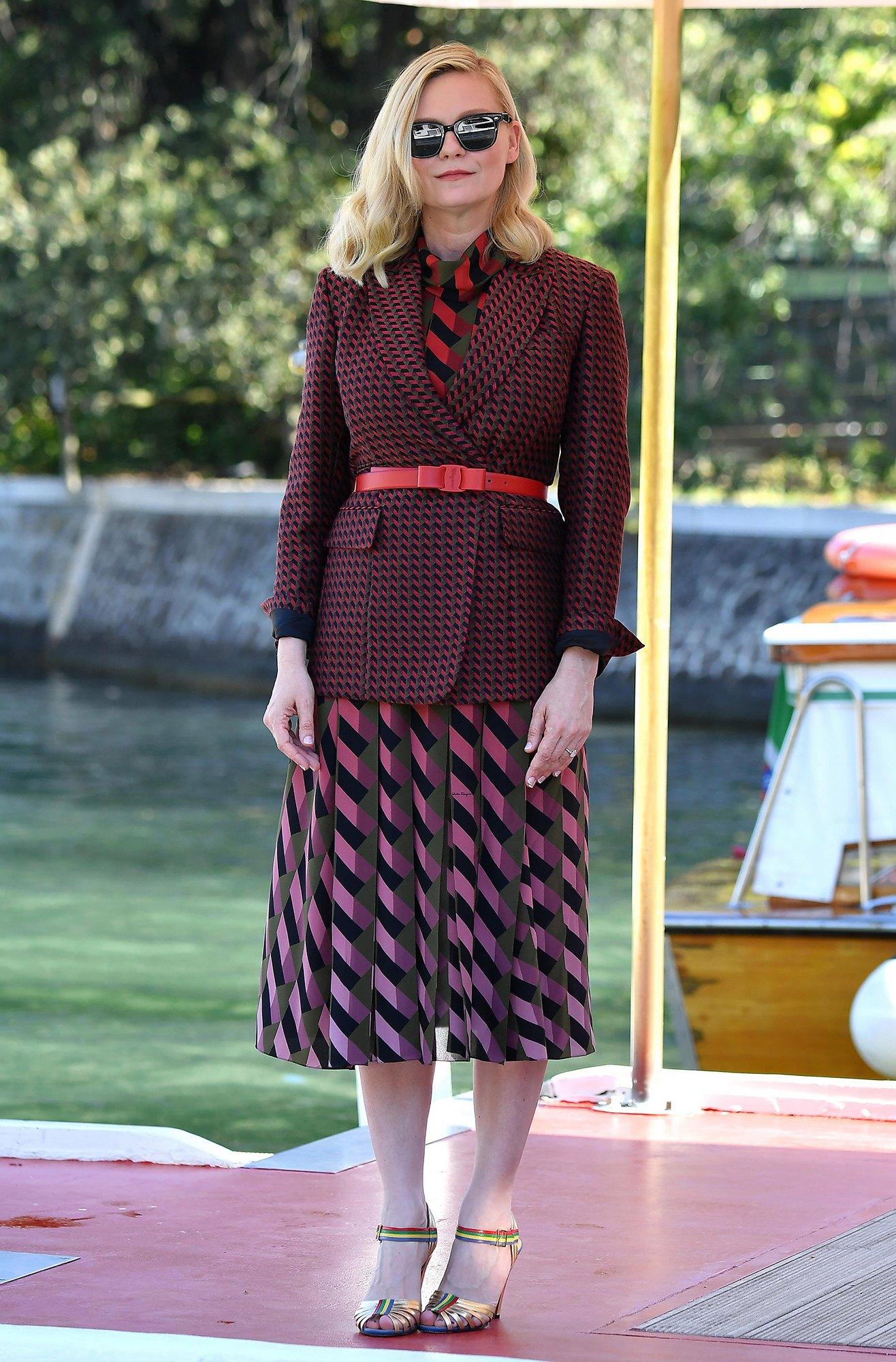 Kirsten Dunst thời trang Venice
