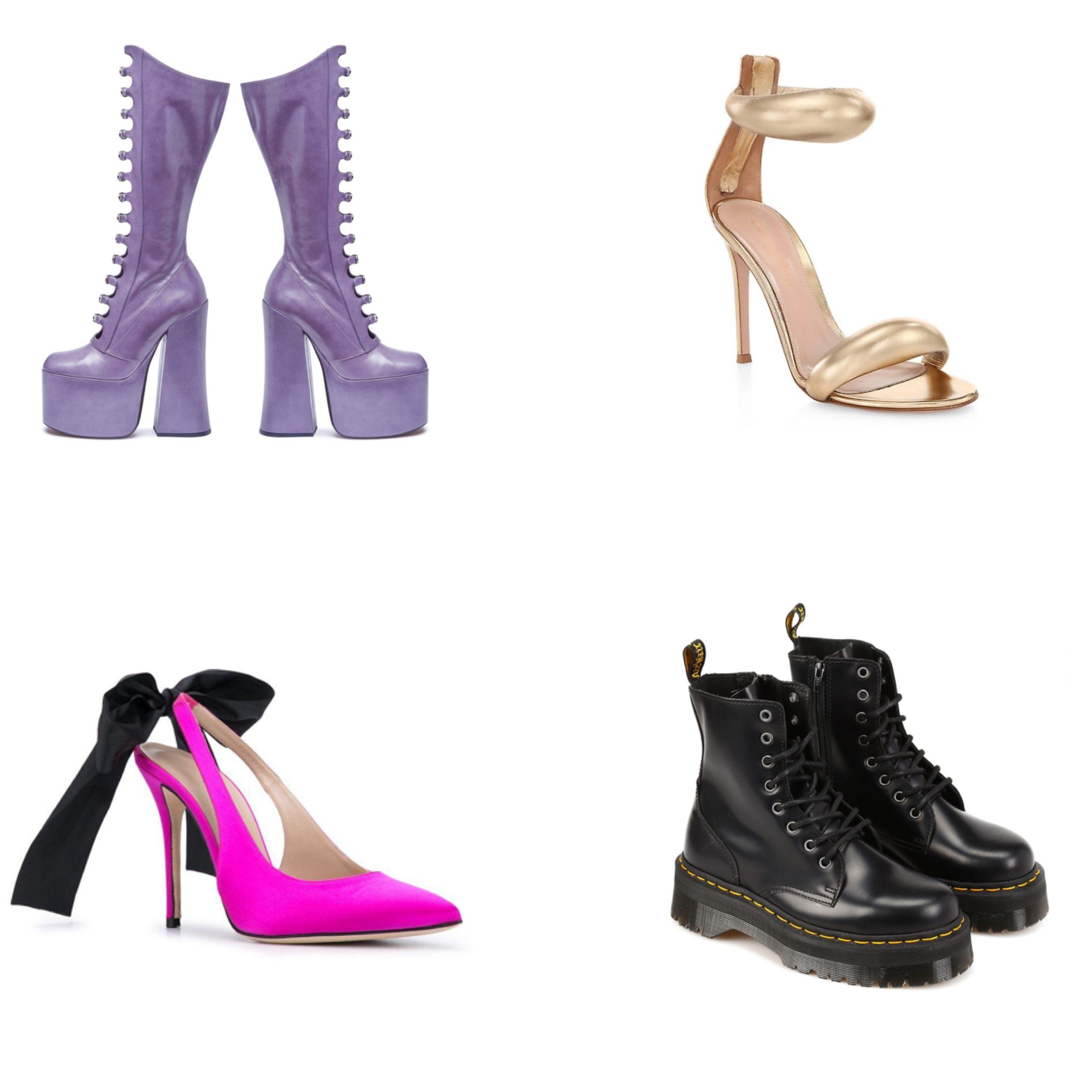 các mẫu giày trong MV