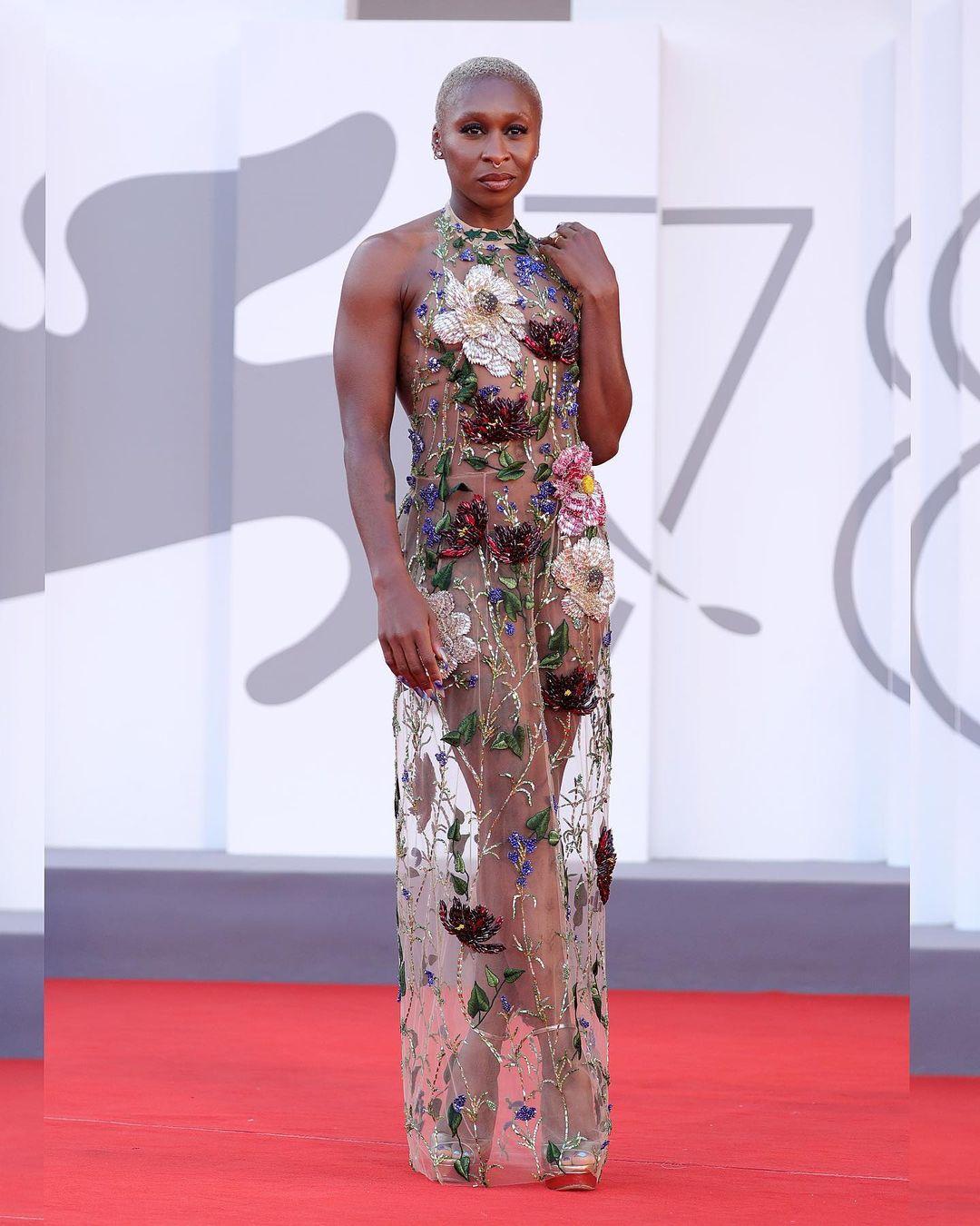 Cynthia Erivo thời trang Venice