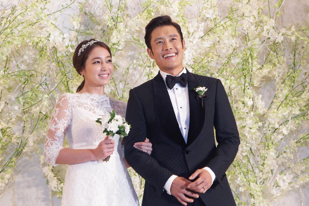 cặp đôi lee byung hun và lee min jung