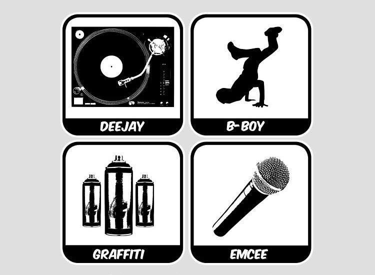 bốn trụ cột chính của hip-hop
