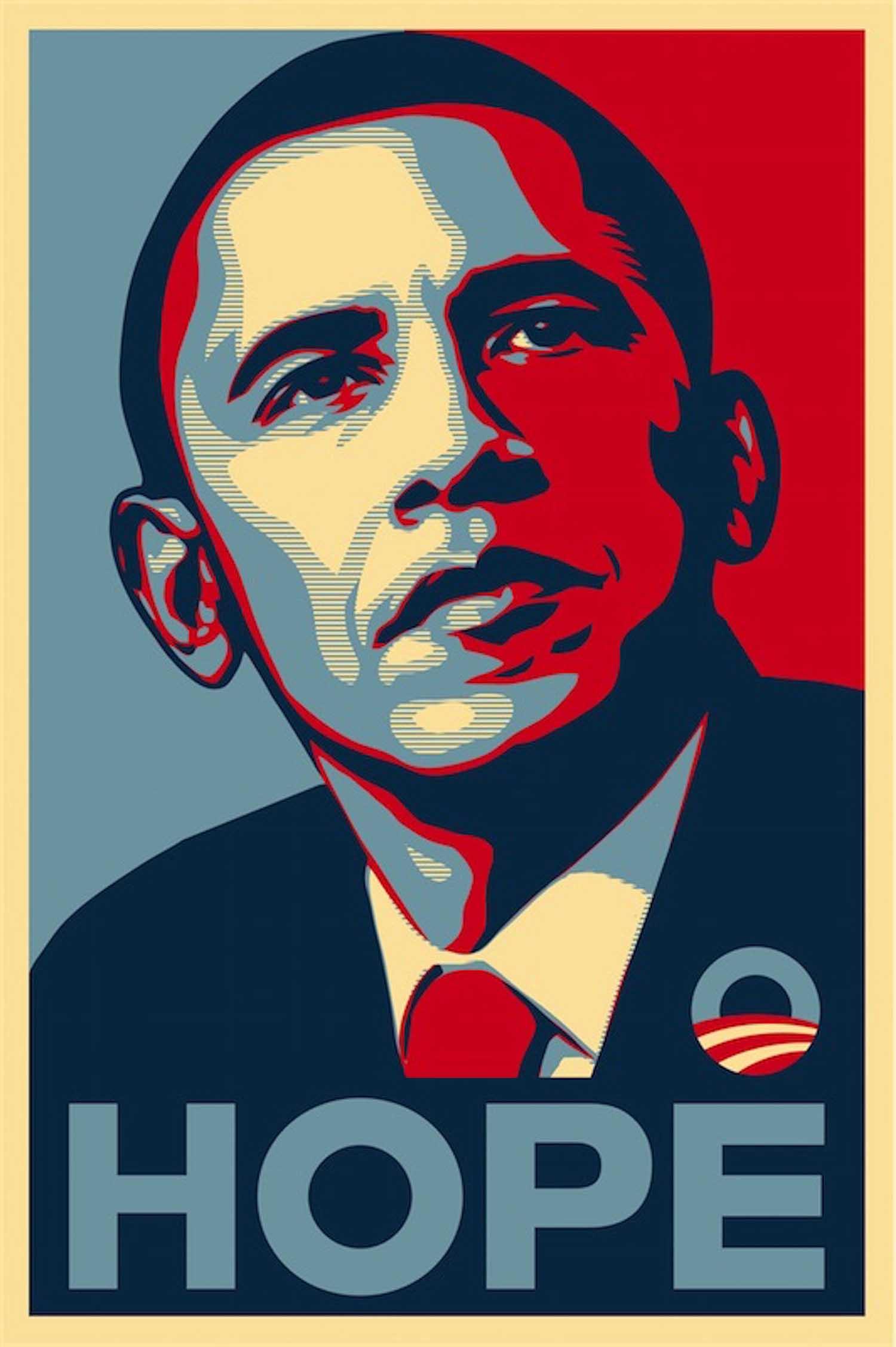 hình ảnh barack obama hope