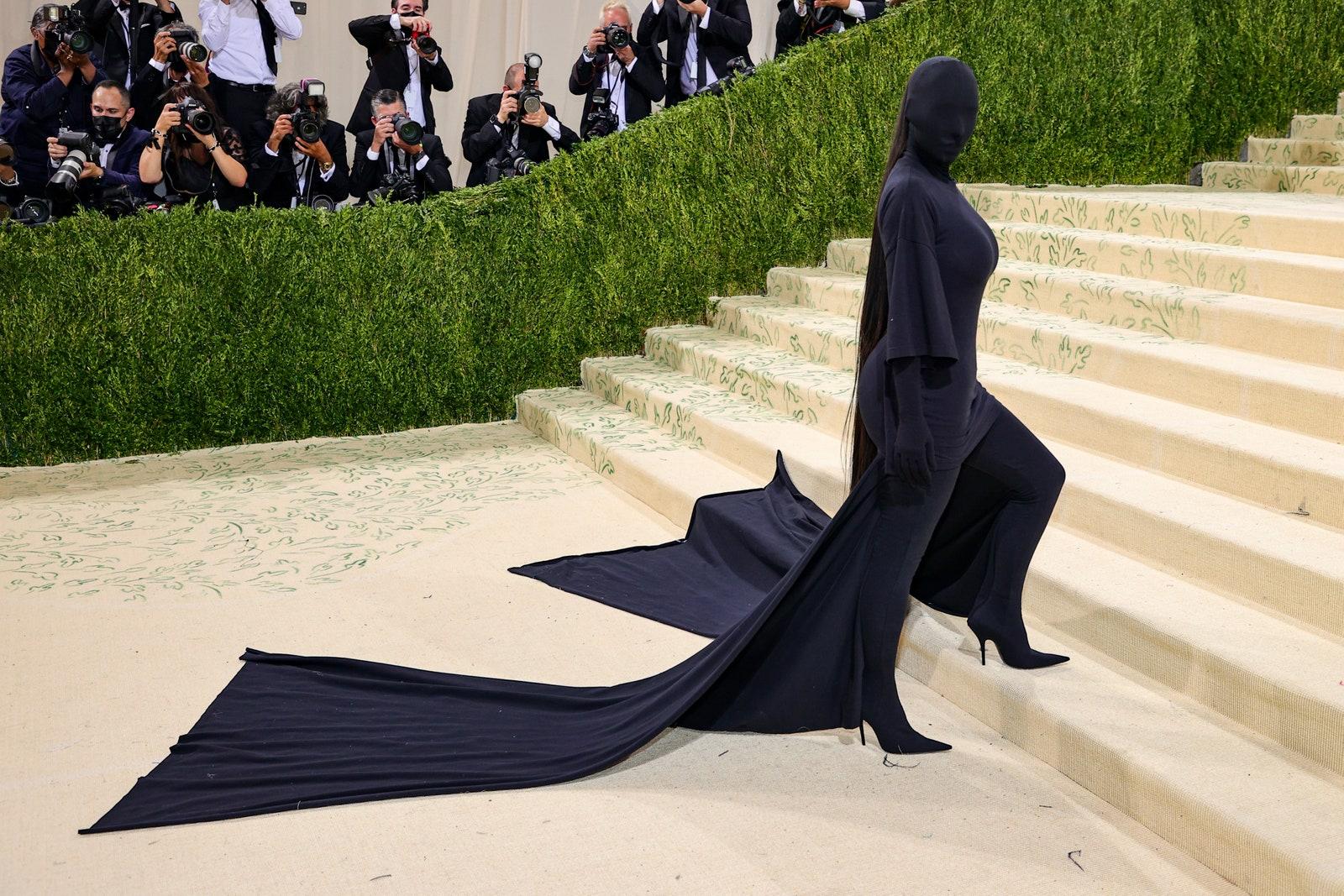 Kim Kardashian Balenciaga couture