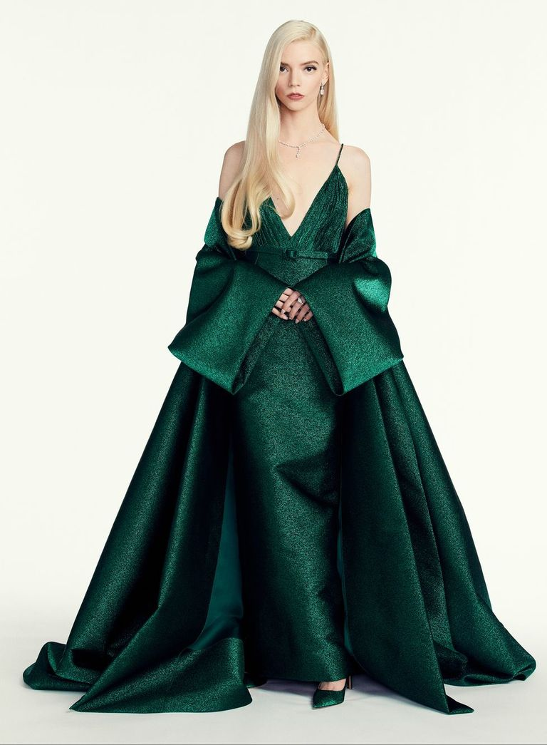 Anya Taylor Joy thời trang Dior