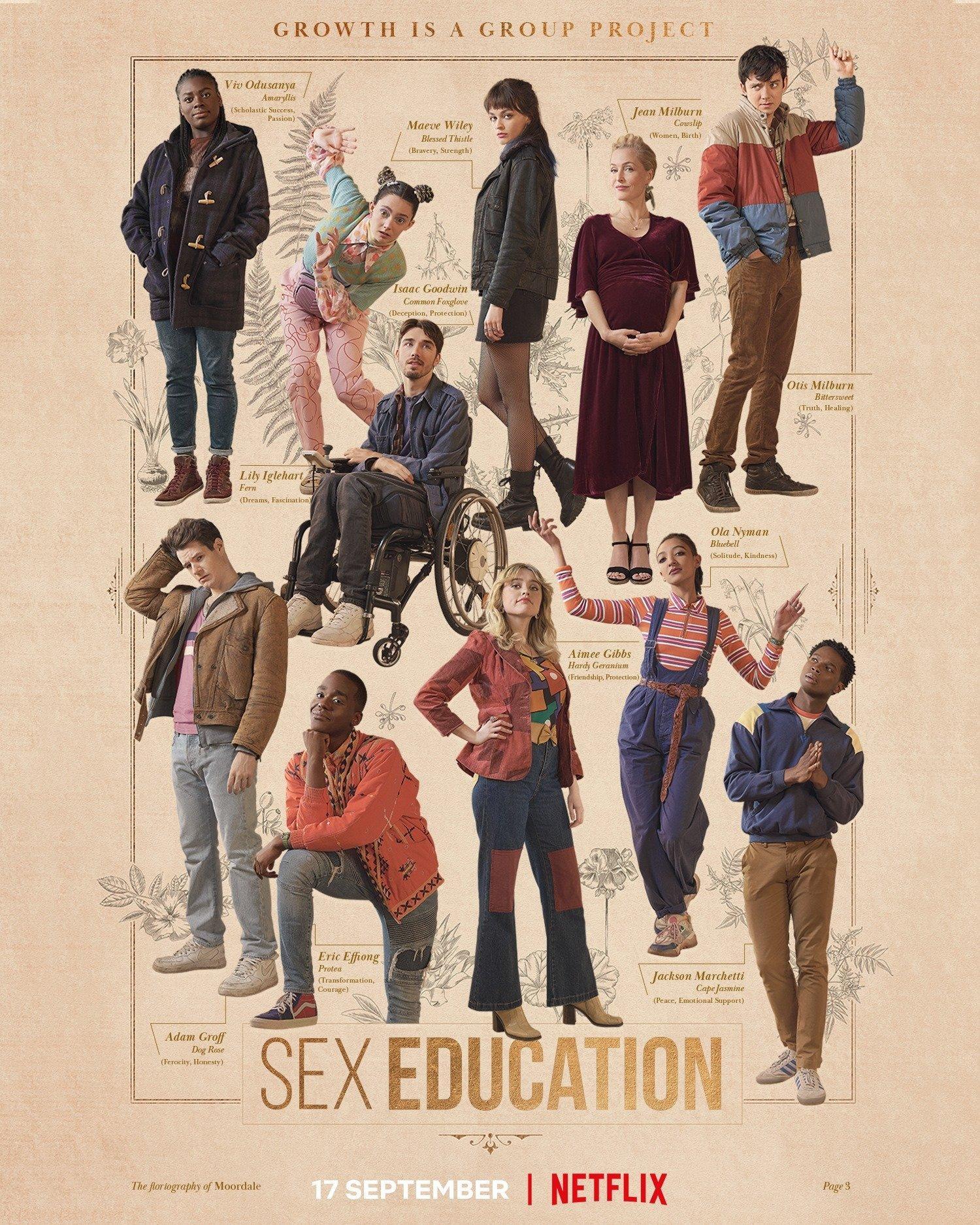 sex education mùa 3 vẫn giữ nguyên phong độ