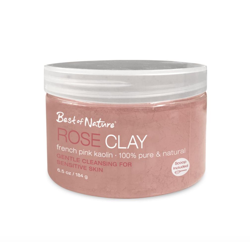 Tẩy da chết Rose Clay FrenchPink Kaolin chiết xuất từ đất sét hồng nguyên chất.