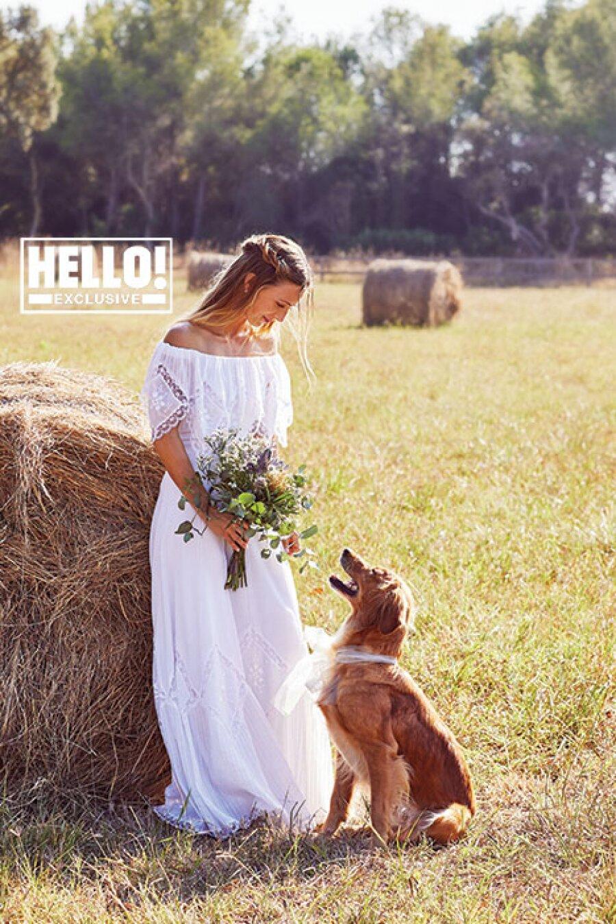 Alizée váy cưới
