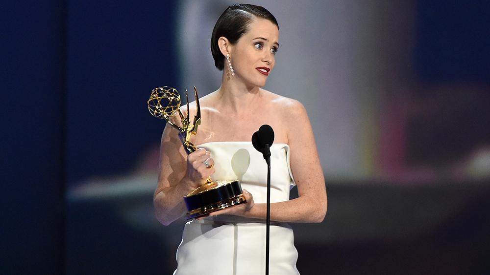 claire foy chiến thắng nữ diễn viên xuất sắc nhất 2018