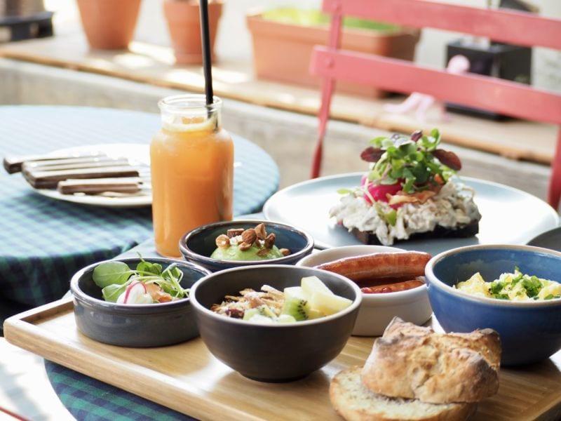 bữa brunch của người Hàn Quốc