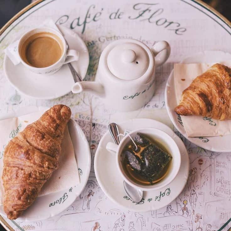 bữa brunch tại Pháp có gì