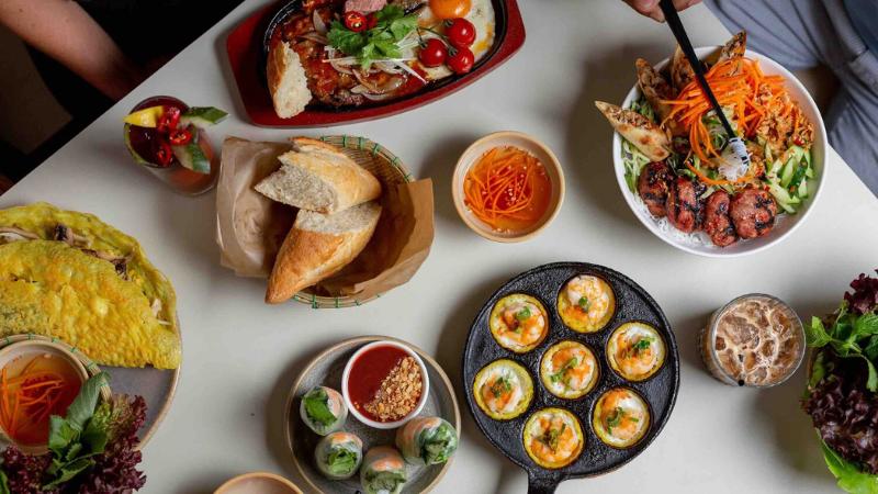 Bữa brunch của người Việt Nam vô cùng phong phú.