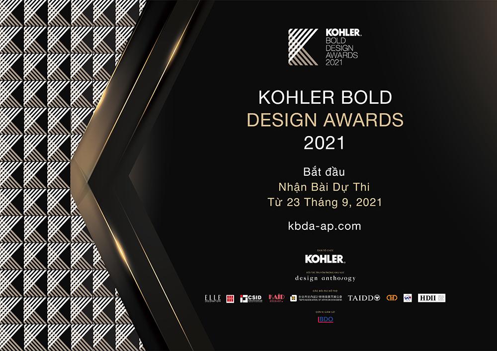 cuộc thi kohler bold design awards 2021