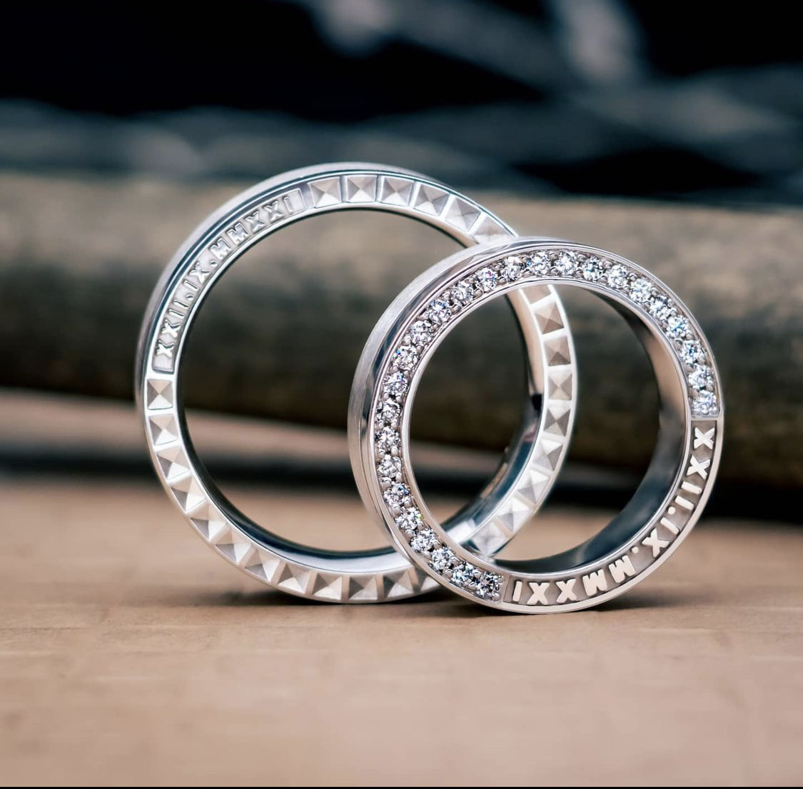 thiết kế eternity full kim cương