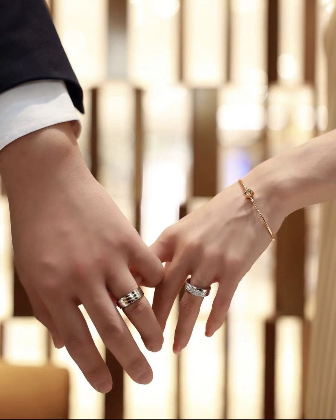 nhẫn cưới xu hướng 2021