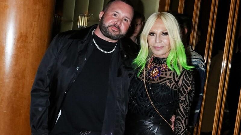 Versace x Fendi Kim Jones and Donatella Versace