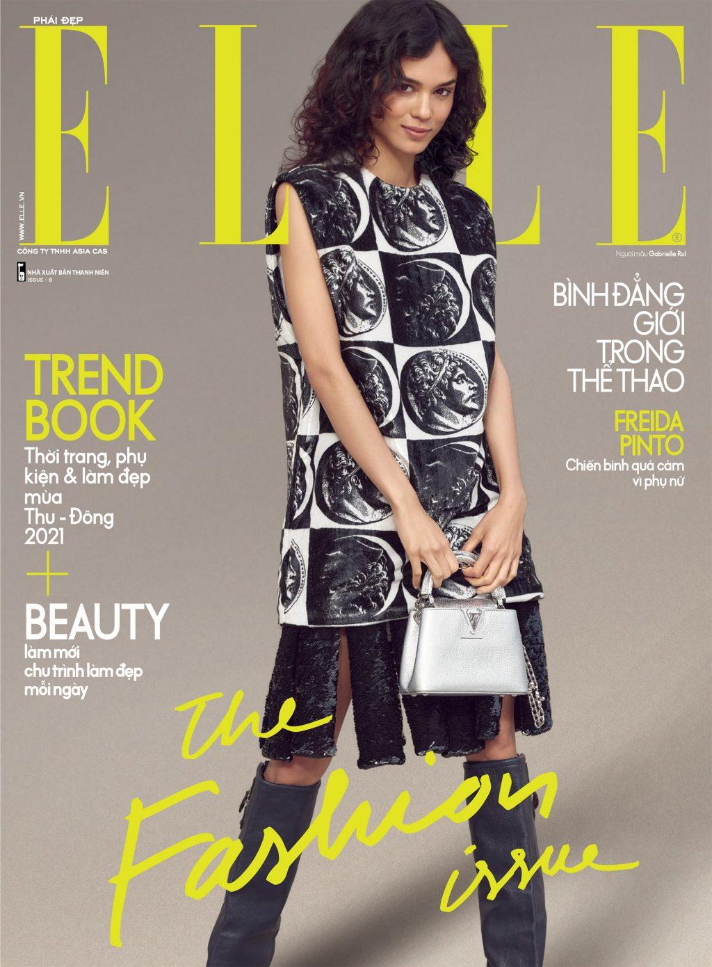 tạp chí phái đẹp elle ẩn phẩm tháng thời trang