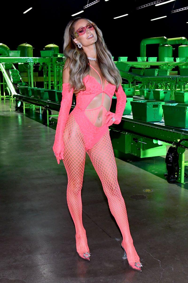 Paris Hilton Fenty show