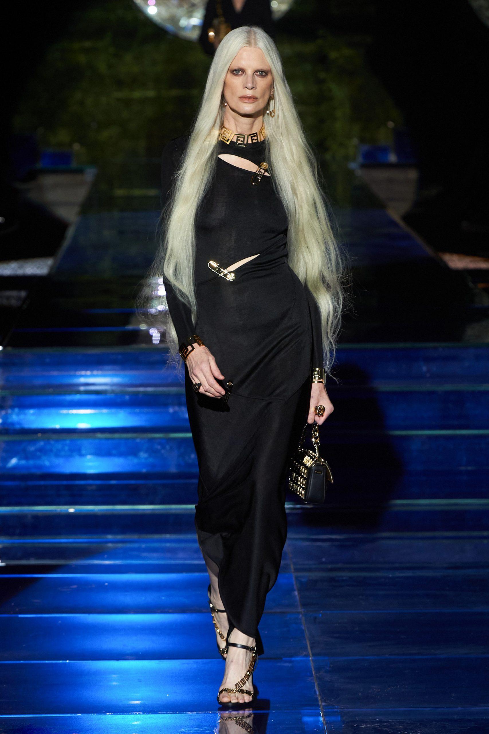 Versace by Fendi đầm dài