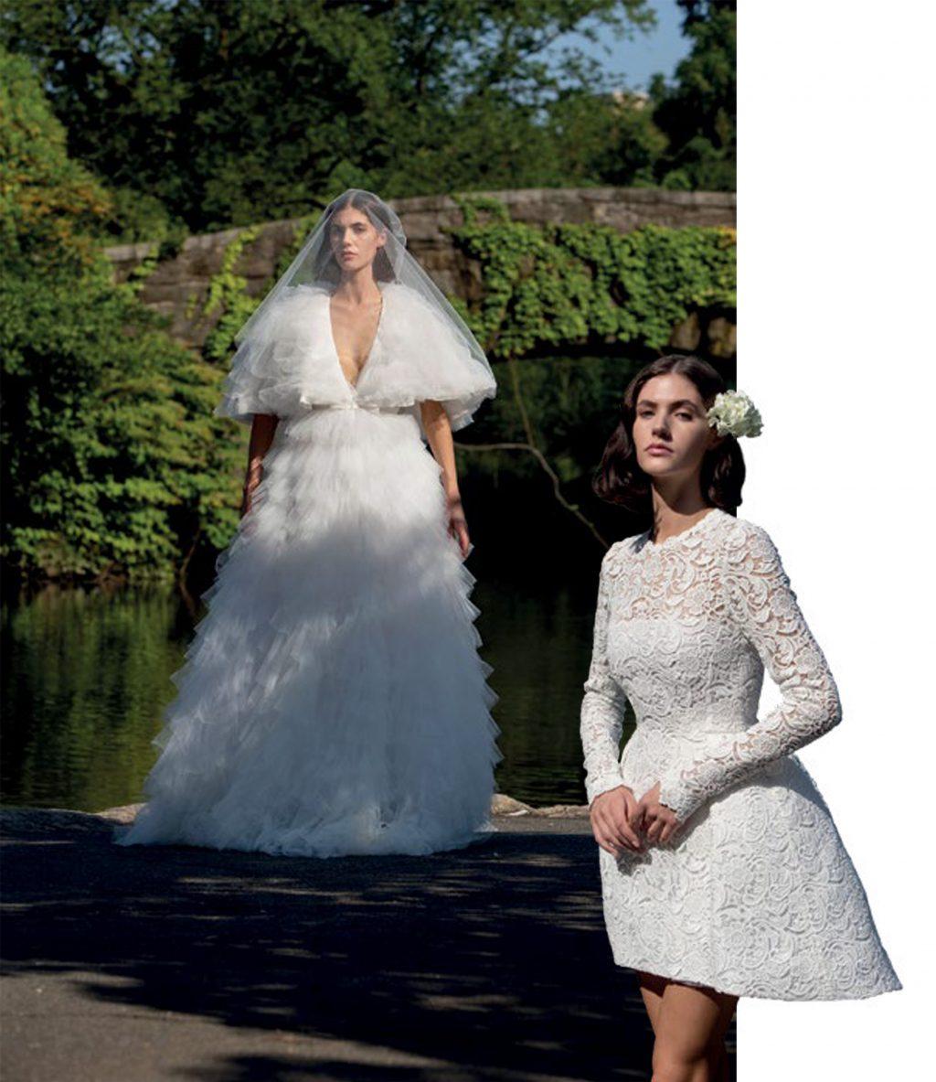 thời trang BST cưới của ntk Giambattista