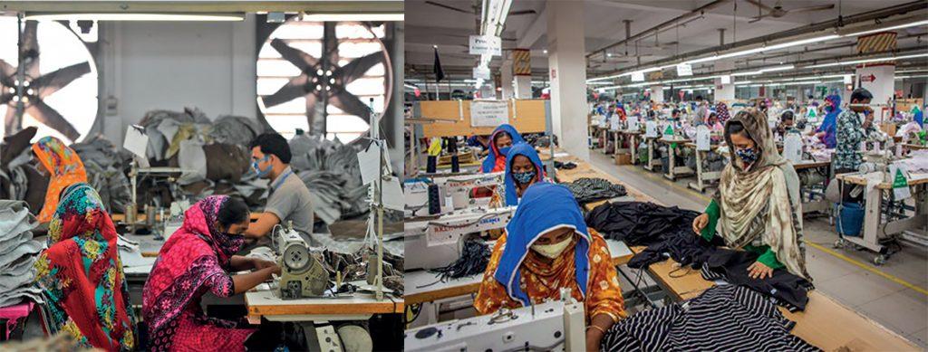 thời trang các thương hiệu bảo vệ nhân công