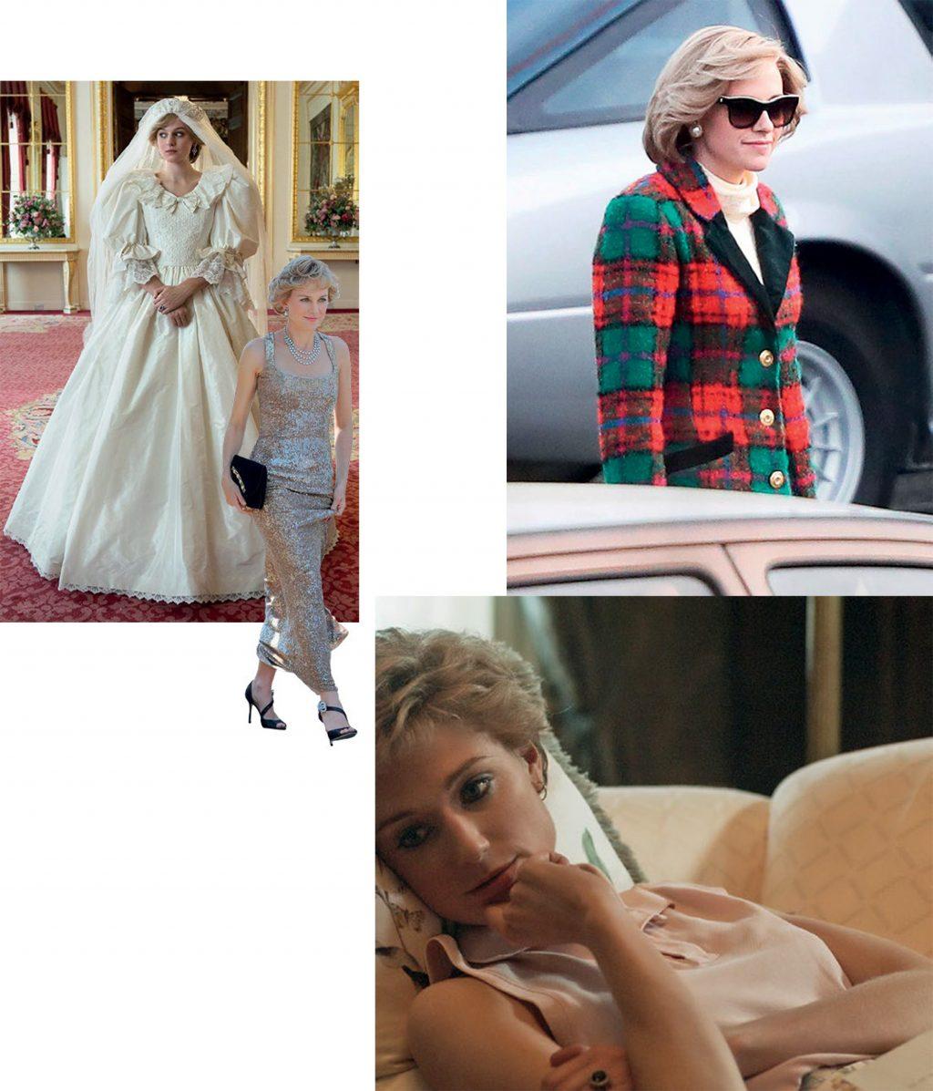 thời trang phim về công nương Diana