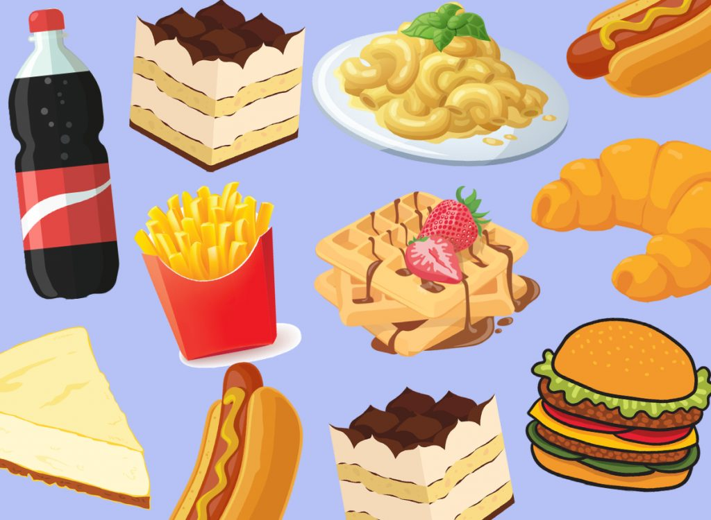 thức ăn nhanh có thể gây đau bao tử