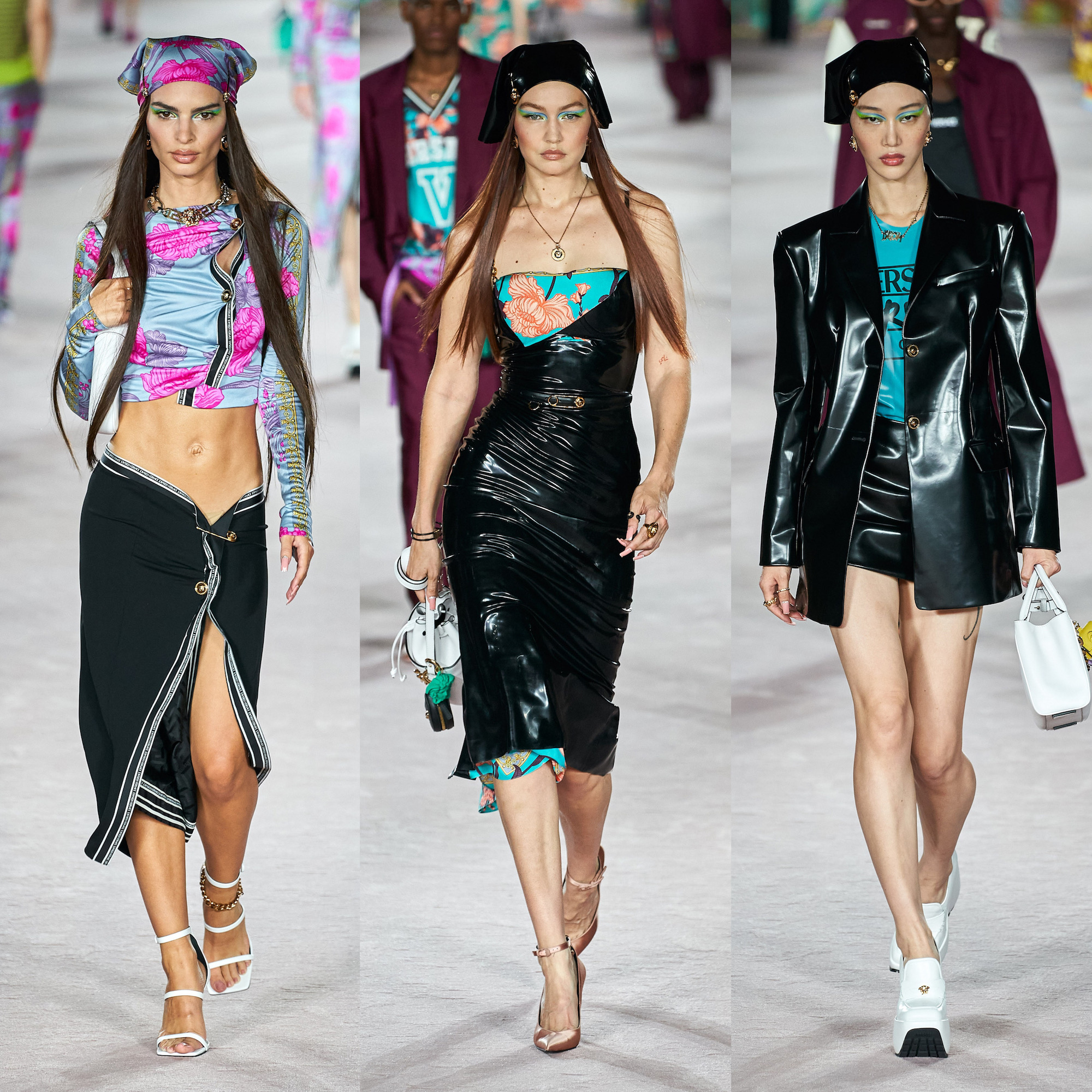 Versace's collection 2022