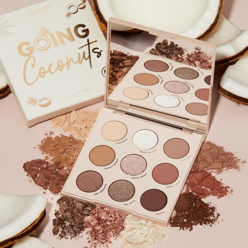 Colorpop Going Coconuts Eyeshadow Palette