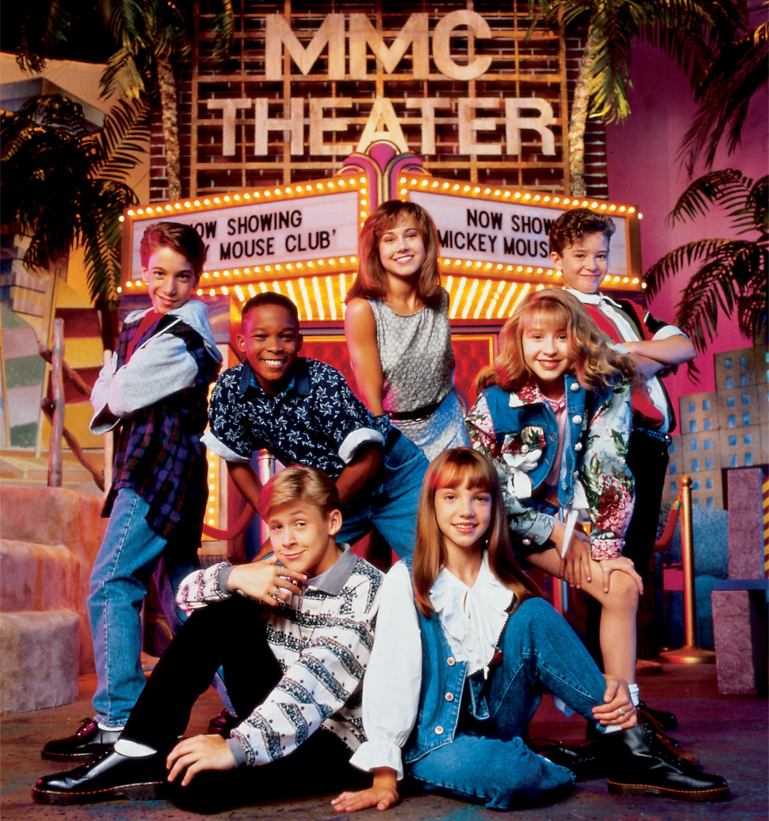 Britney Spears ở Mickey Mouse Club.