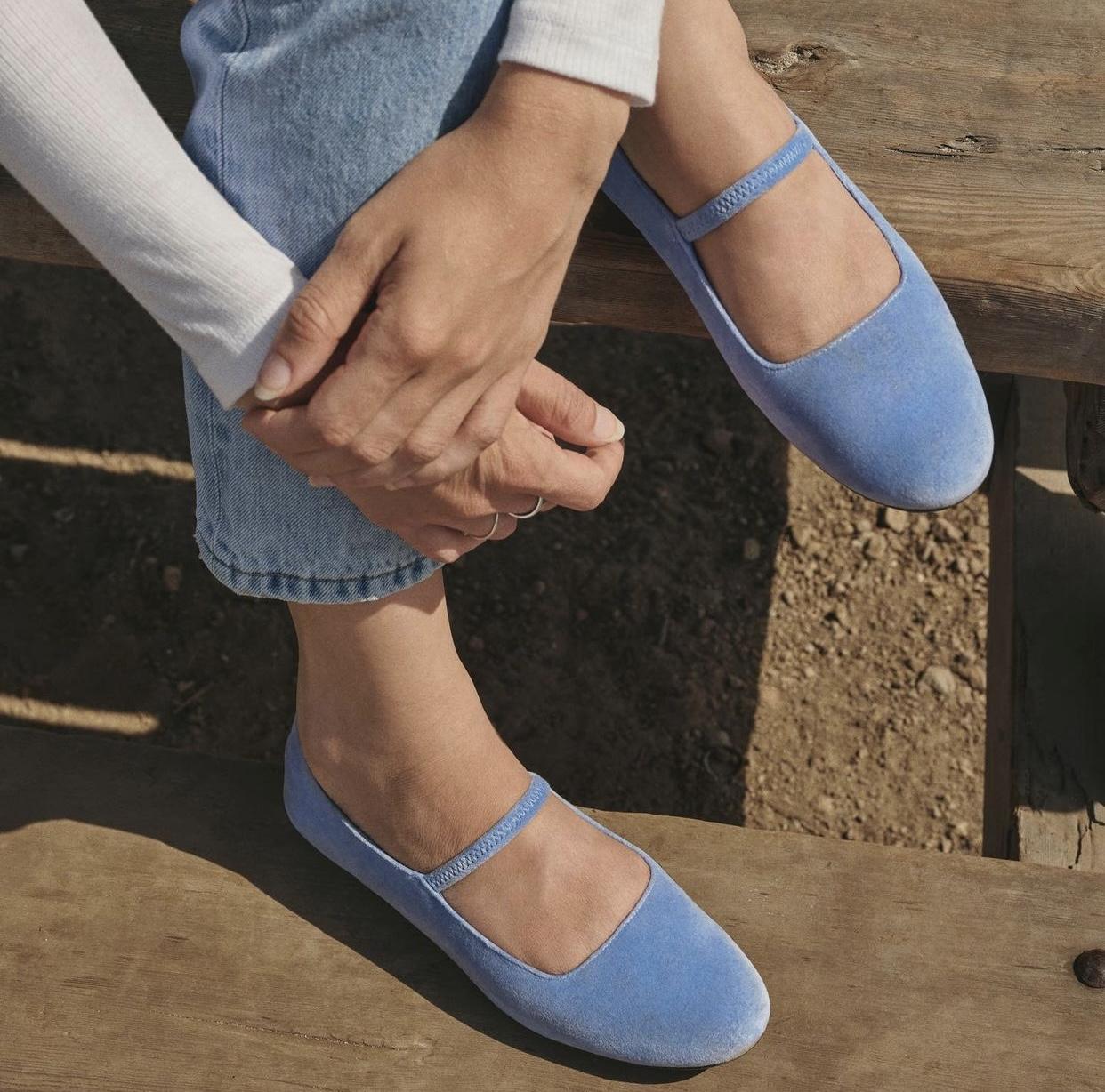 giày búp bê nữ mary jane