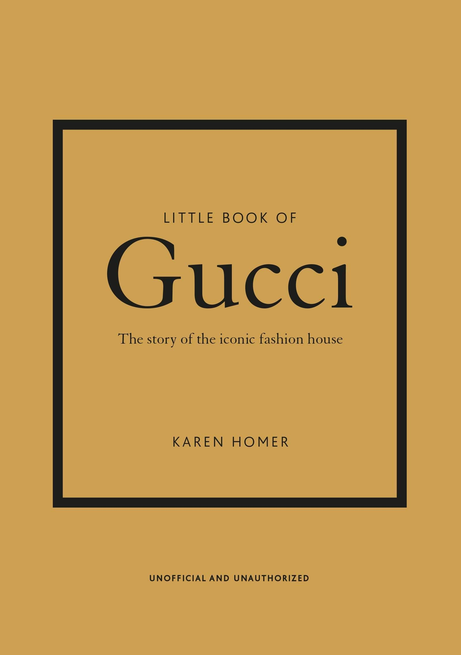 sách thời trang Little Book of Gucci