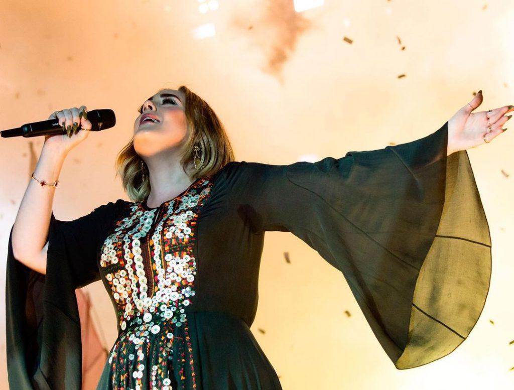 Adele và phương pháp giảm cân