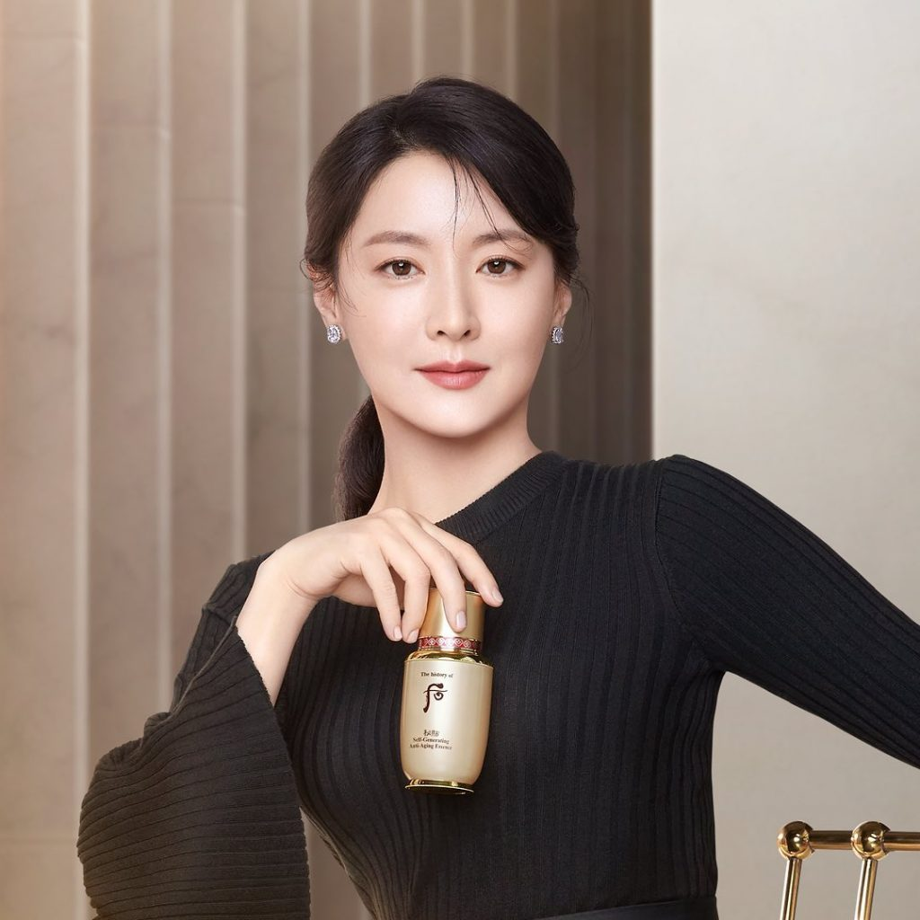 Lee Young Ae đại diện The history of Whoo