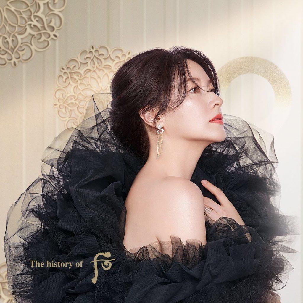 Phong cách trang điểm thanh lịch Lee Young Ae