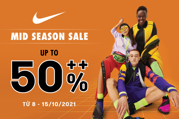 Chương trình khuyến mãi Nike