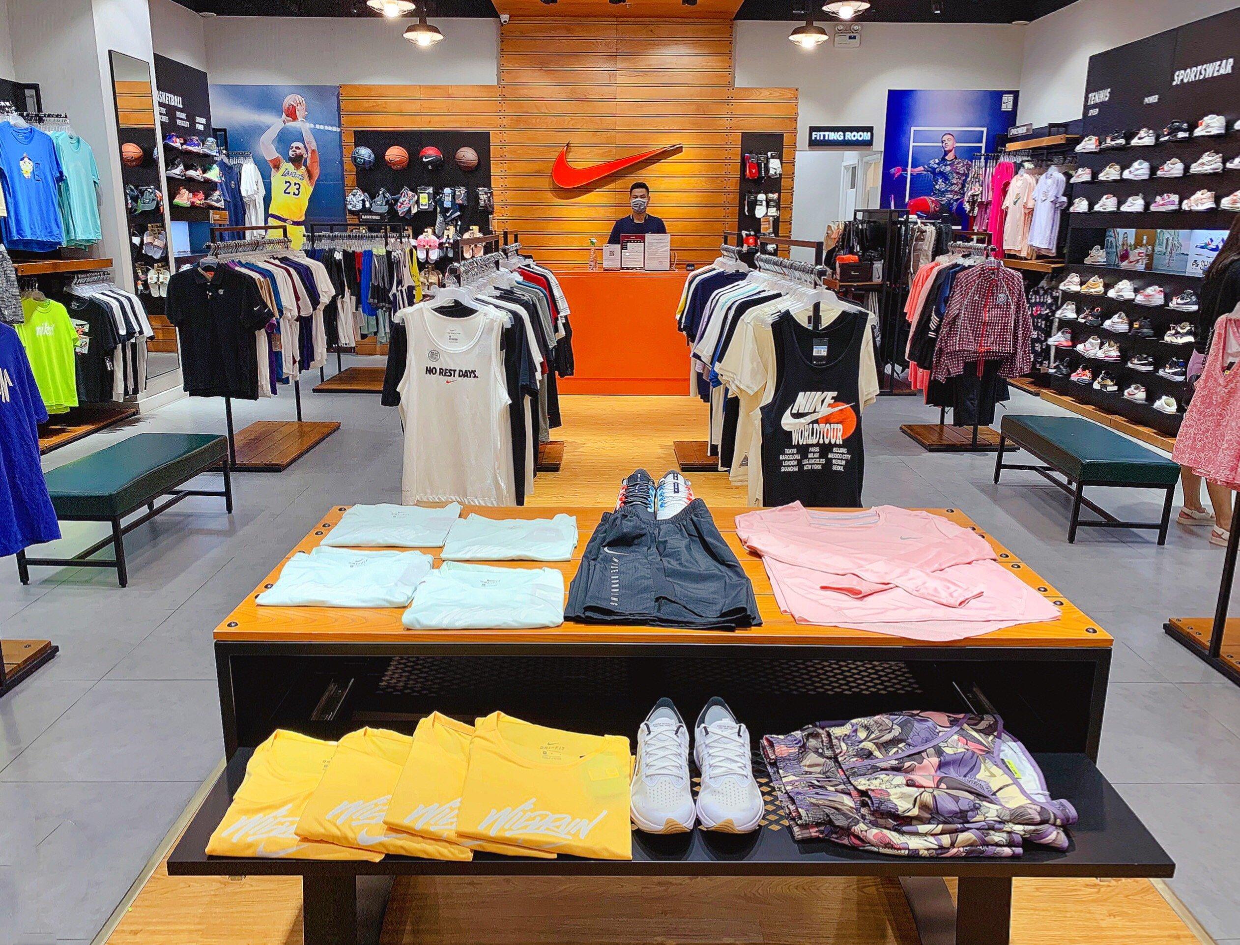Nike trải nghiệm mua sắm xanh
